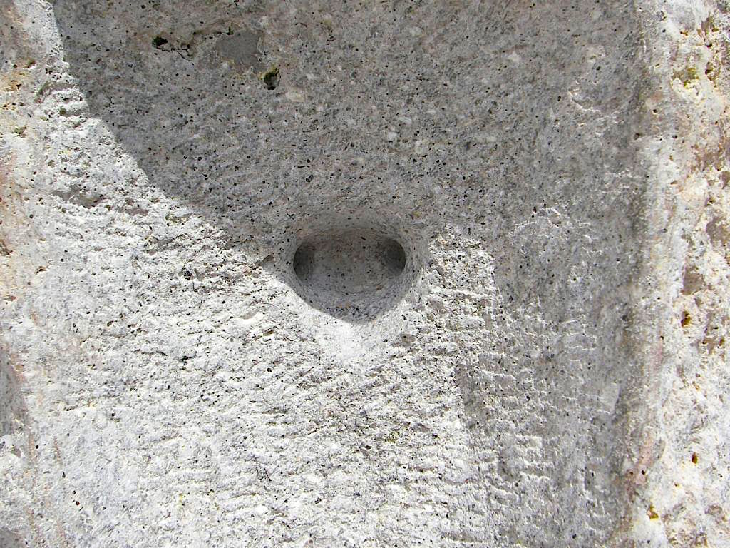"""Grüner"" Andesit Ankara - Detail"